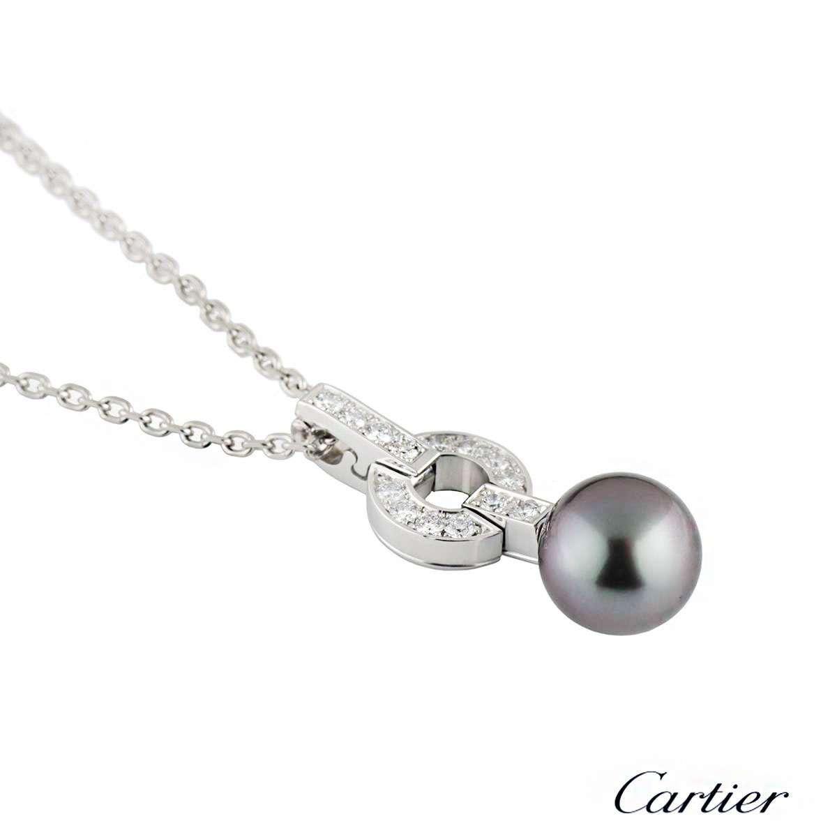 Cartier Himalia Diamond & Pearl Necklace B3038300